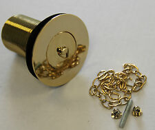 GOLD 1.5'' PLUG AND CHAIN BELFAST SINK WASTE