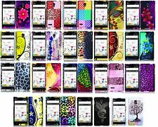 for LG Optimus L9 Rubberized Design Hard Snap On Cell Phone Case Bumper Cover