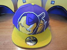 Los Angeles Lakers NBA Iron Man Marvel Comics Hat 5950 NWT
