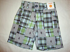 GYMBOREE Plaid For Spring Easter Celebrations Shorts 3 4 5 6 7 8 NWT Patchwork