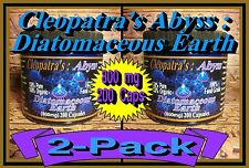 Cleopatras Organic Silica / Diatomaceous Earth **400 Abyss Capsules*** #1 in USA