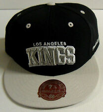 NHL Los Angeles Kings Mitchell and Ness Vintage Fitted Cap Hat M&N Choose Size