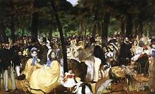 Photo Print Music in the Tuileries Garden Manet, Edouard - in various sizes jwg-