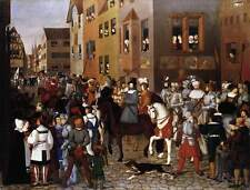Photo Print The Entry of Emperor Rudolf of Habsburg into Basel Pforr, Franz - in