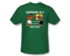 Muhammad Ali 8-Bit Ali Video Game Start Screen Licensed Tee Shirt Adult S-3XL