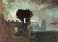 Art Print - Archway With Trees By Sea - Turner Joseph Mallord William 1775 1851