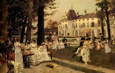 Photo/Poster - Reception At Malmaison In - Francois Flameng 1856 1923