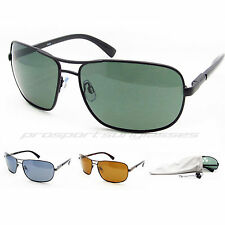 Aviator Polarized Sunglasses Square Aviators Pilot Fishing, Driving, Men