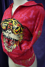 NEW WOMEN AUTHENTIC ED HARDY SWEAT SUIT (JACKET AND PANTS)