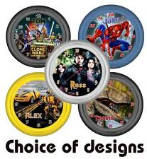 ★ Personalised ★ MOVIE CLOCK ★  Choice of design or designed for you!