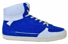 D&G DOLCE & GABBANA High Top Sneakers Sneaker Blue Bleu 00961