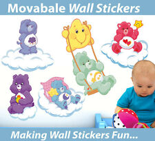 Care Bear Wall Stickers - Totally Movable - BUY NOW!