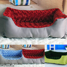 DB209 NEW Spring Rose Dog Pet Cat Bed Pet Dog Kennel Bed Sz Medium Small Dogs