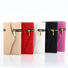 Leather Zipper Wallet Card  magnetic Case Cover for Samsung Galaxy S3 III i9300