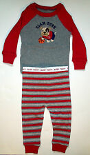 New Faded Glory infant boys slam dunk bulldog basketball 2pc pj set sleepwear