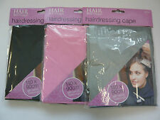 Adult Hair Dressing Cape Salon Hairdresser Gown Cover Barber Hair Cut 3 Colours