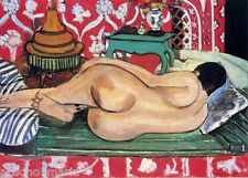 HENRI MATISSE RECLINING NUDE POST IMPRESSIONISM ART GICLEE PRINT FINE CANVAS