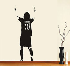 Lionel Messi wall art sticker decal Large