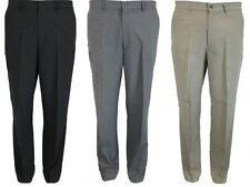 MENS NEW FARAH TROUSER FLAT FRONT IN 3 COLOURS 30 TO 64 KING SIZES AVAILABLE**