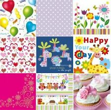 4 x Single Paper Napkins Vintage Style for decoupage 9 Designs - and you choos