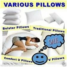 VARIOUS PILLOWS + FREE CASE Maternity/Pregnancy/Mobility/Support * POLYPROPYLENE