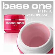 GEL UV 5 ou 15 ML URBAN NAILS BASE ONE MONOPHASE PINK ROSE POUR LAMPE UV