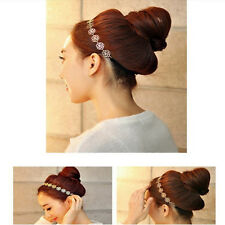 Multi Hollow Out Rose Flower Hair Band Sweet Headband Hairband Necklace
