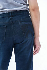SLIM STRAIGHT FIT LINE BOY TEENAGERS JEANS DENIM - 6 8 10 12 14 16  BLUE IP1628I