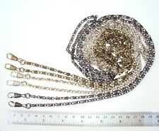 120CM PURSE HANDLE BAG STRAP CHAIN DIY REPLACEMENT, SILVER, BRASS, DARK SILVER