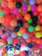 ASSORTED COLOUR FISHING RIG BEADS IN 5mm or 8mm