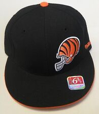 NFL Cincinnati Bengals Mitchell and Ness Fitted Cap Hat M&N NEW!