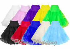 "25"" 50s Swing Vintage Petticoat/Rock n Roll Tutu/Fancy Skirt/Wedding Underskirt"