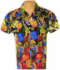 WILD LIFE MENS BRAND NEW HAWAIIAN STAG SUMMER LEISURE HOLIDAY SHIRT
