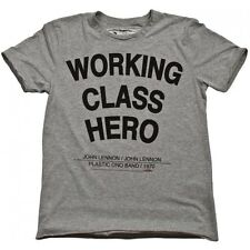 JOHN LENNON (THE BEATLES) - WORKING CLASS HERO - OFFICIAL AMPLIFIED MENS T SHIRT