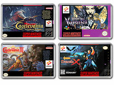 CASTLEVANIA SERIES Super Nintendo SNES Cover Art Fridge Magnet
