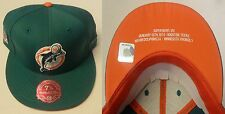 NFL Miami Dolphins Mitchell and Ness Super Bowl VIII Fitted Cap Hat M&N NEW!