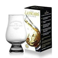 "Glencairn Whisky Glass ""The Water of Life"" Scotland Whiskey Tasting 1 2 4 6 8"