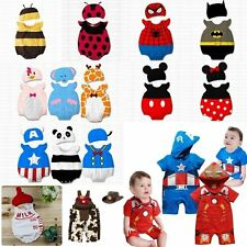 Baby Boy Girl Mickey Minnie Bee Ladybird Halloween Costume Outfit Romper 3-24M
