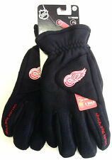 NHL Detroit Red Wings Degrees by 180's Winter Fleece Gloves W/ Exhale Heating™