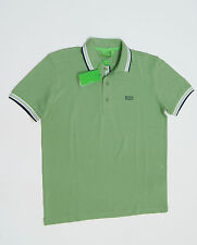 BOSS GREEN by HUGO BOSS 'Paddy' Modern Fit Polo Shirt Pale Green NEW NWT