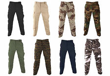 PROPPER MILITARY TACTICAL BDU PANTS POLY/COTTON TWILL BUTTON FLY CLOSURE- F5201