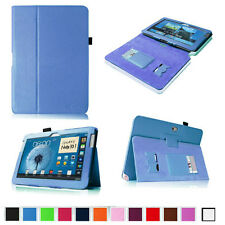 "PU Leather Case Cover W Card Holder For New Samsung Galaxy Note 10.1"" Tablet"