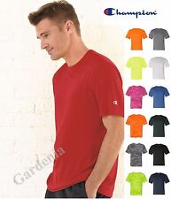 Champion CW22 Men Double Dry Interlock T-Shirt Moisture Wicking Polyester Sports