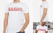 White Red Unbelievable Tekkers Tee Mens T-Shirt Top 100% Cotton RRP £14.99