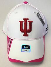NCAA Indiana Hoosiers Adidas Breast Cancer Awareness Pro Shape Cap Hat TY68Z NEW