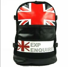 Vintage London Style Backpack Union Jack & The Star-Spangled Banner Backpack