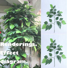 12stems Apple-Pineap Leaf Artificial plants Artificial tree branches 300 leaves
