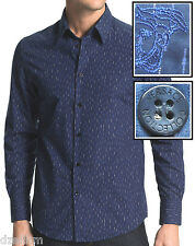 NWT $295.00 Versace Collection Graphic Print Sport Shirt