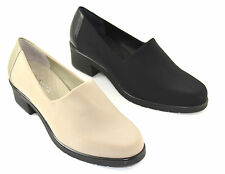 Walking Cradles Pearla Womens Shoes Black Taupe
