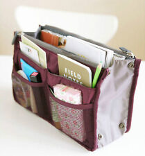 Women's Removable Handbag Large Organiser Insert Cosmetic Bag-in-Bag Tidy Travel